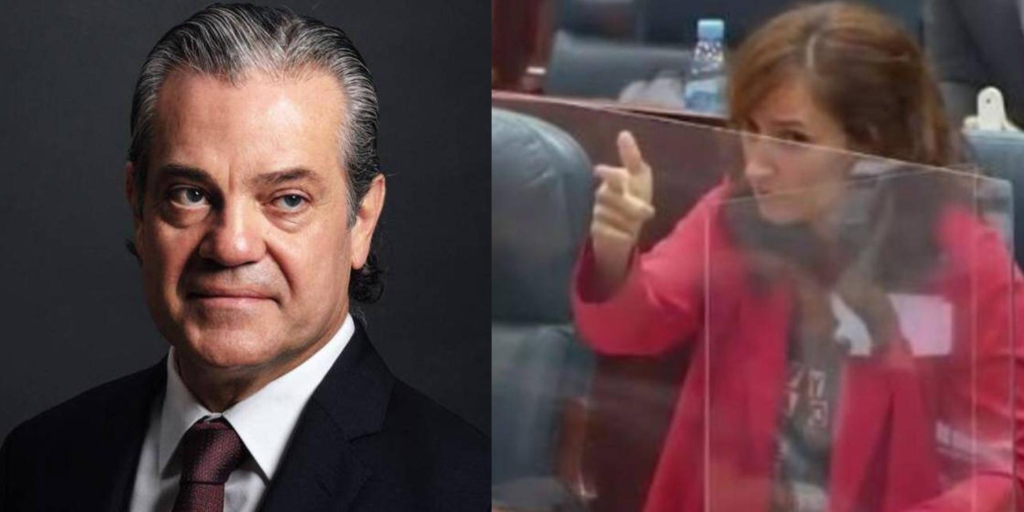 """La 'pistolera' Mónica García dispara un bulo contra De Quinto y acaba en la lona: """"Infórmese antes de decir memeces"""""""