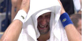 Las lágrimas de Djokovic: el serbio lloró tras naufragar ante Medvedev en la final del US Open