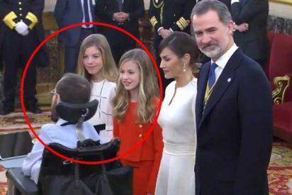 """Echenique, contra la monarquía: """"Casi me llevo por delante con la silla a la infanta y la princesa y las atropello"""""""