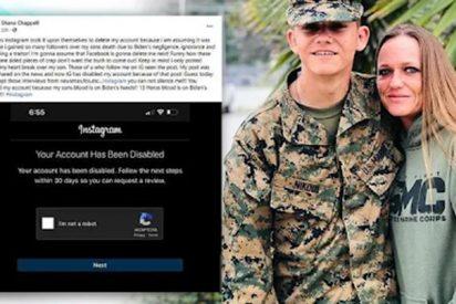 Facebook censuró esta carta contra Biden de la madre de un soldado muerto en Afganistán