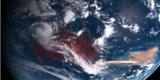 Una floración masiva de algas marinas surge de los fuegos de Australia