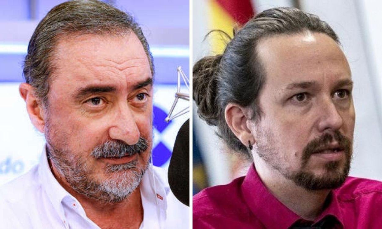 """Carlos Herrera a Pablo Iglesias: """"eres un cantamañanas y serás infeliz hasta el último día de tu vida"""""""