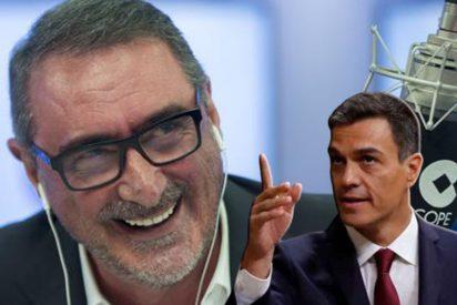 El mote de última hora para Pedro Sánchez que se inventa Carlos Herrera y da en el clavo