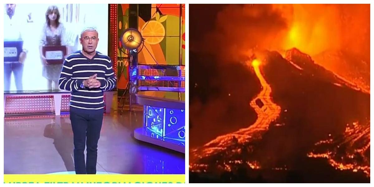 'Sálvame' trata la erupción del volcán de La Palma con el peor gusto posible