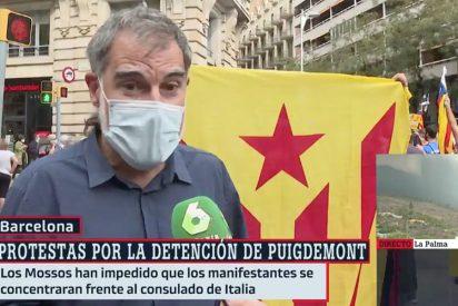 """Para esto salieron de la cárcel y Ferreras les pone el micro: """"No hay ningún delito"""""""
