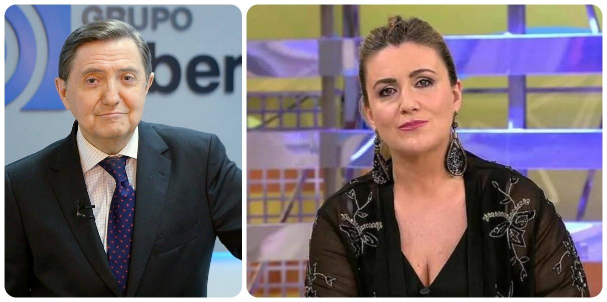 """Jiménez Losantos hiela la sangre de Carlota Corredera: """"He visto a muchos famosos ir al paro"""""""