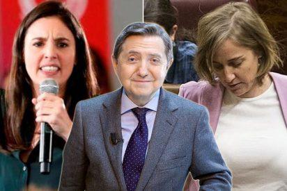 """Losantos vapulea a Irene Montero por su desvergüenza: """"Ella le impuso el burka a Tania Sánchez"""""""