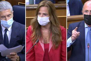 """Jiménez-Becerril (PP) y Gil Lázaro (VOX) sofocan a Marlaska por el homenaje al etarra Parot: """"¡No tienen vergüenza!"""""""