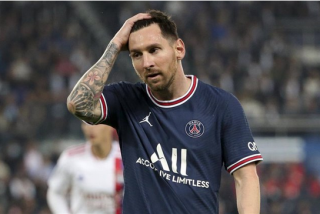 Messi preocupa al PSG: Sufre una contusión ósea en la rodilla