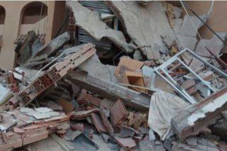 Una compañía telefónica multa a un hombre por 'perder' el router en el derrumbe del edificio de Peñíscola