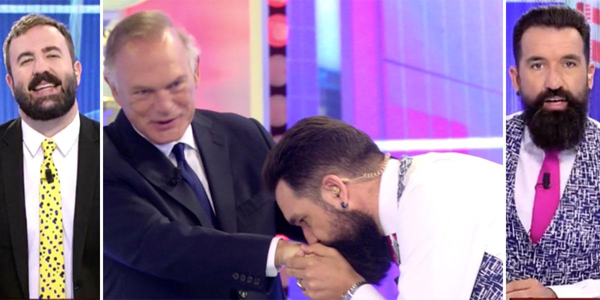 Dantesco Mediaset: sientan a Piqueras con los bufones de Risto para que ponga a caldo a Sálvame