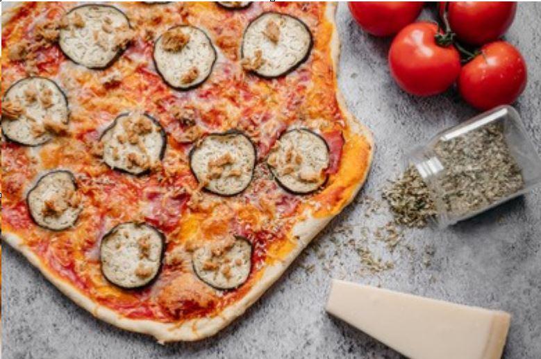 Pizza Melanzane al estilo Mercadona