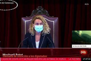 ¡Vaya pifia de RTVE! Rotula como 'Parlament de Catalunya' la emisión del pleno del Congreso de los Diputados