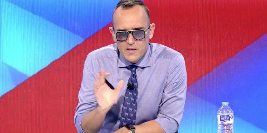 """Risto tiene que dar la nota hasta con el volcán de La Palma: """"¡A los medios nos dais igual!"""""""