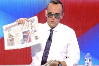 """El Risto más hipócrita y manipulador ataca a los periódicos de papel con el volcán: """"Odio tener razón"""""""