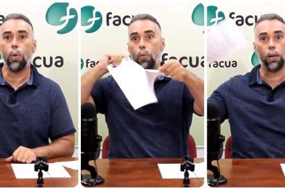 Las redes electrocutan al 'Facuo' Rubén Sánchez por el paripé de romper el contrato con su empresa eléctrica