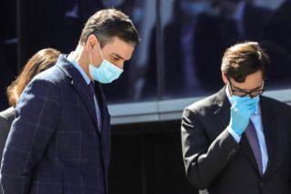 Comienza el calvario judicial para Pedro Sánchez: un juez imputa a Illa por las mascarillas 'fake'