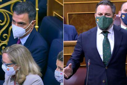 """Abascal abochorna a Sánchez: """"Va a una mesa de negociación con golpistas y la moneda de cambio es España"""""""
