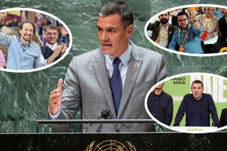 """La frase lapidaria de Sánchez en la ONU que se refiere a él y sus socios en España: """"La democracia está amenazada"""""""