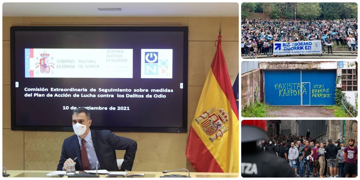 ¿Convocará Sánchez la Comisión contra delitos de odio, como hizo con la falsa agresión a un gay, tras los 51 homenajes a Parot?