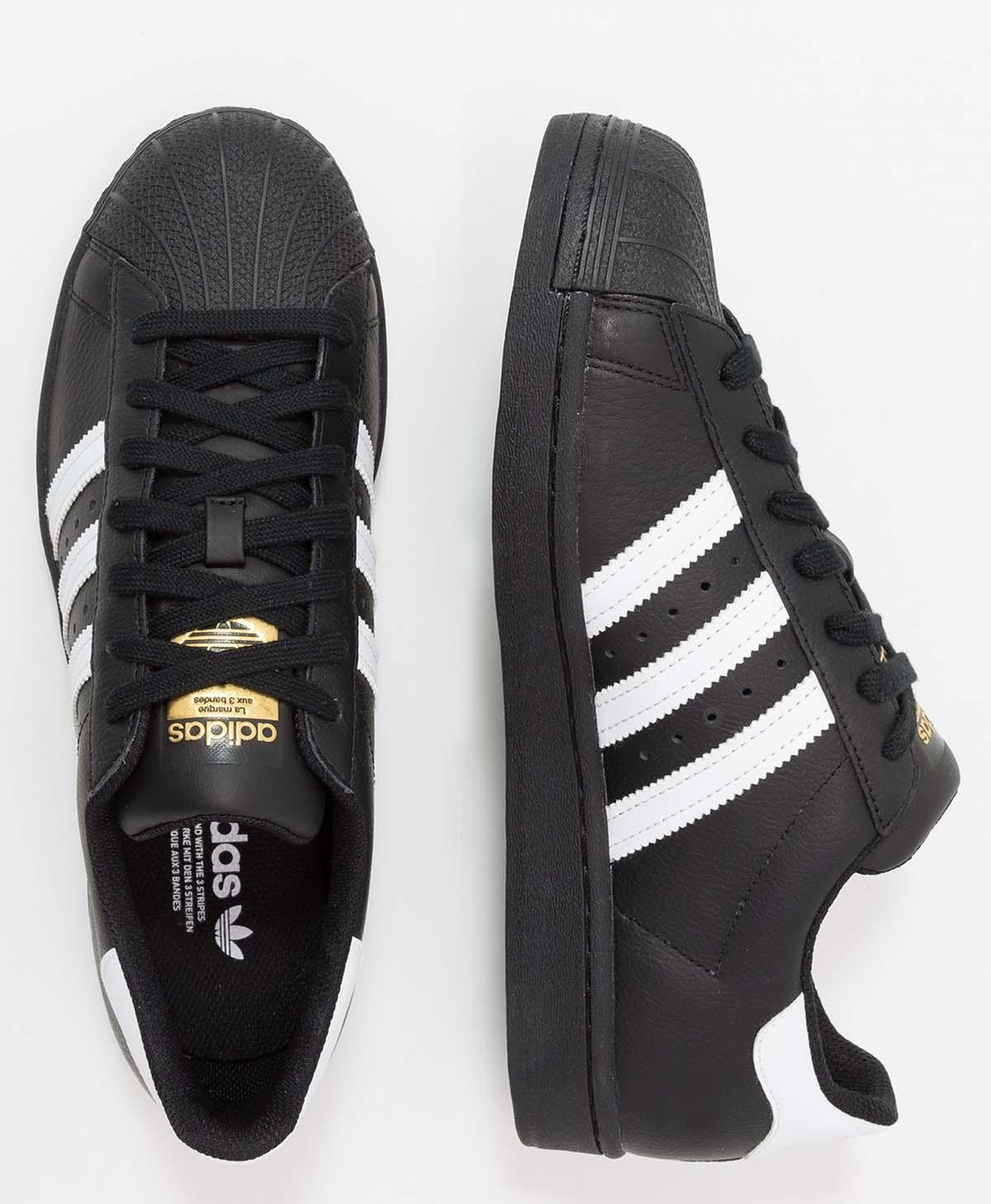Adidas superstar negro blanco