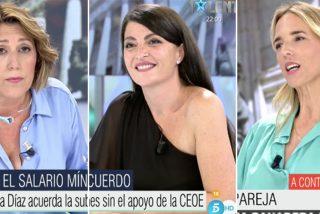"""Cayetana y Olona sofocan a Susana Díaz por atreverse a ir a la tele: """"¡Tú tienes mucho que enseñar de insultos a los españoles!"""""""