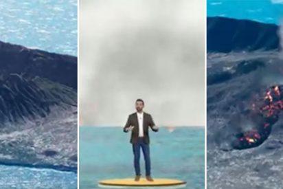 La tele canaria deja en ridículo absoluto a TVE, Atresmedia y Mediaset con la cobertura del volcán