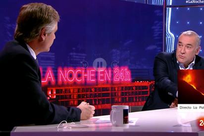 González Terol (PP) se cansa del Xabier Fortes (TVE) más activista en defensa de Sánchez, Bildu y ERC