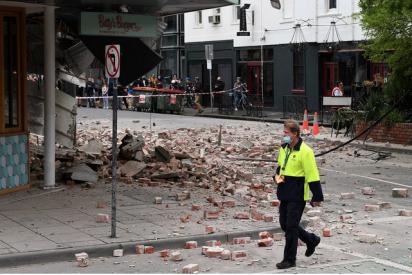 Un terremoto de magnitud 5,8 zarandea el sureste de Australia