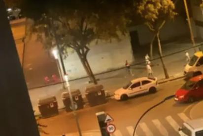 El vídeo del brutal tiroteo entre clanes en La Mina (Barcelona)