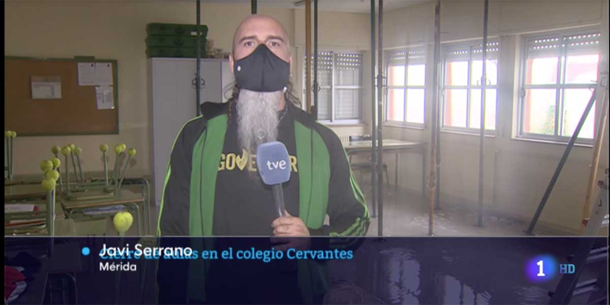 Las 'pintas' de este reportero 'podemita' vuelven a poner en la picota a los informativos de TVE