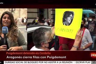TVE deja en pañales a la golpista TV3: así publicitó las diferentes concentraciones en apoyo al prófugo Puigdemont
