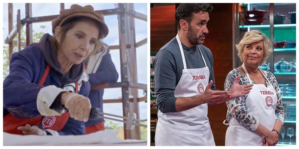 'MasterChef Celebrity 6': Victoria Abril pierde el norte mientras que Terelu se pone a ligar con Juanma Castaño