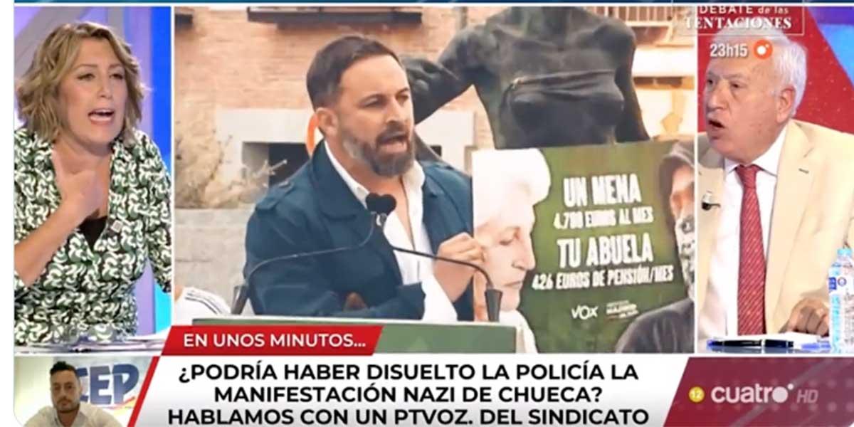 """VOX, contra el duopolio de Atresmedia y Mediaset: """"El PSOE utiliza a sus medios de alcantarilla"""""""