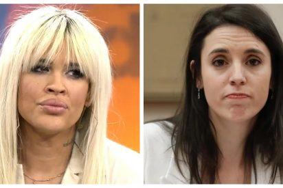 """La burrada de Ylenia Padilla contra Irene Montero: """"Saldrás en los libros de historia por haberte comido..."""""""