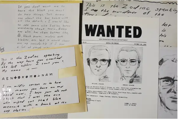 Identifican al peligroso 'asesino del Zodiaco', 50 años después