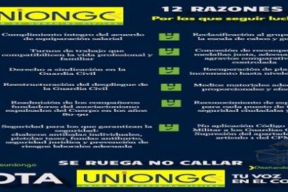 UnionGC, doce razones para construir una Guardia Civil del siglo XXI