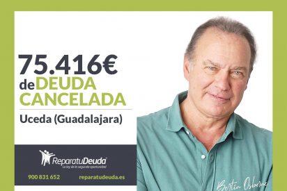 Repara tu Deuda Abogados cancela 75.416€ en Uceda (Guadalajara) con la Ley de Segunda Oportunidad
