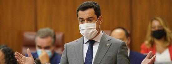 Juanma Moreno insta a todos los partidos políticos a la aprobación de los Presupuestos