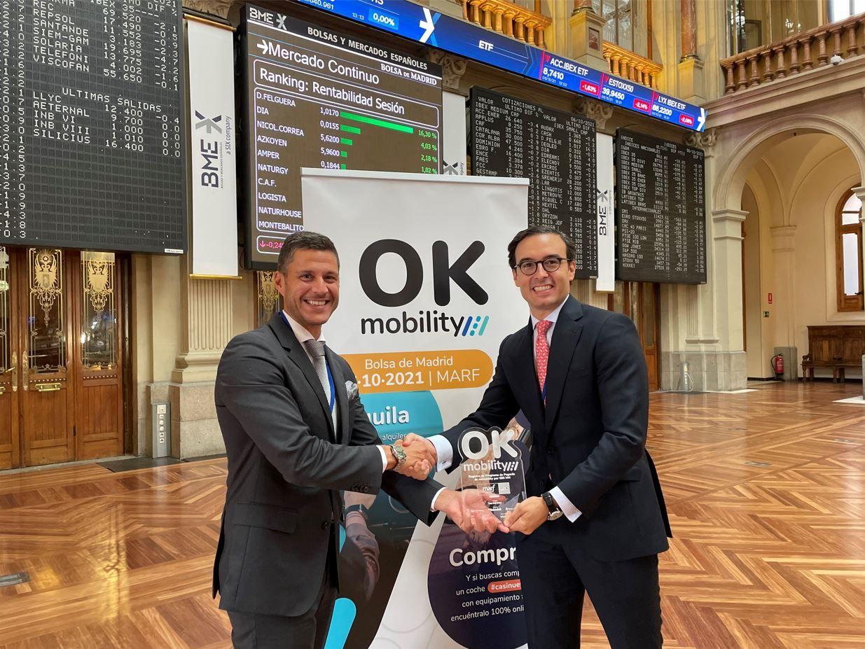 OK Mobility Group lanza su primer programa de pagarés en el MARF por 80 millones de euros