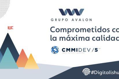 La Dirección de Operaciones de Grupo Avalon, calificada en el nivel de madurez 5 de CMMI