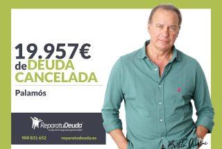 Repara tu Deuda Abogados cancela 19.957 € en Palamós (Girona) con la Ley de Segunda Oportunidad