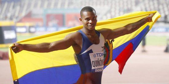 Asesinan a balazos al velocista olímpico ecuatoriano Álex Quiñónez