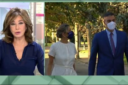 """Ana Rosa Quintana retrata los PGE de Sánchez: """"Son unos presupuestos ninja, para camuflar una deuda del 120%"""""""