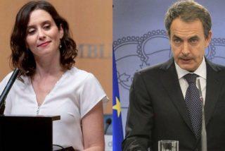 La frase de Ayuso sobre ETA que hizo retorcer a Zapatero en la Cadena SER