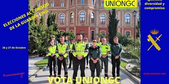UnionGC, la única candidatura paritaria. Las mismas compañeras que compañeros.