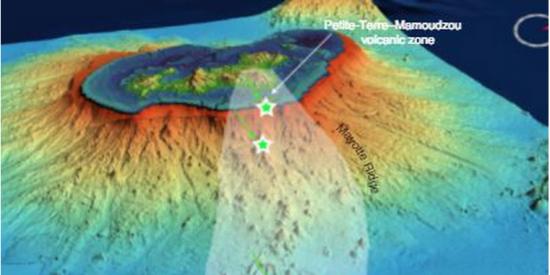 Descubren el volcán submarino más grande del mundo 'escondido' en la costa de Madagascar