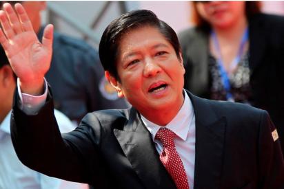 El hijo del dictador Ferdinand Marcos, candidato a la presidencia de Filipinas