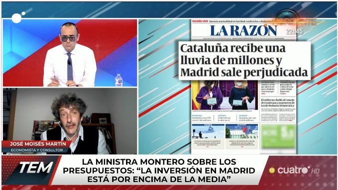 La nueva bobada de Risto y sus amigotes de TEM: reírse de la 'vendetta' de Sánchez a los madrileños