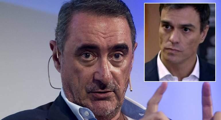 """Carlos Herrera: """"Sánchez pelea contra fantasmas del pasado y alimenta monstruos del presente"""""""